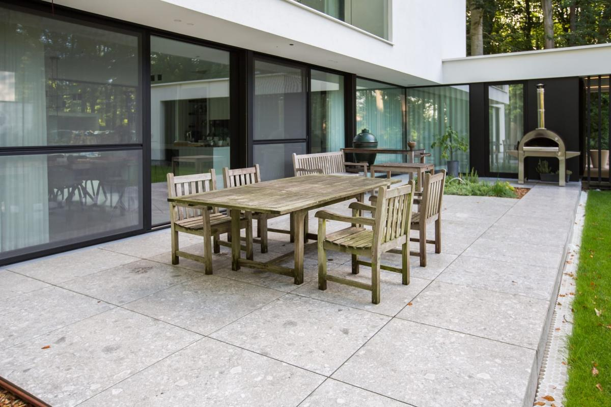 Tegels Delaere terrastegels 90x90x2 cm